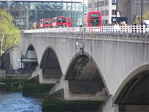 мост Ватерлоо в Лондоне